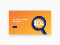 404 Page | #DailyUI008