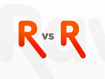 Different R Forms For Logo Design By David Angerer Dribbble
