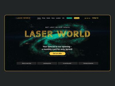 Laser tag website