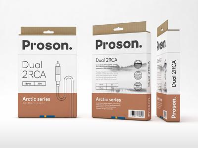Packaging audio accessories branding packaging brand design