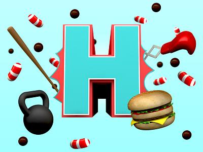 Health fight app facebook 3d cinema 4d