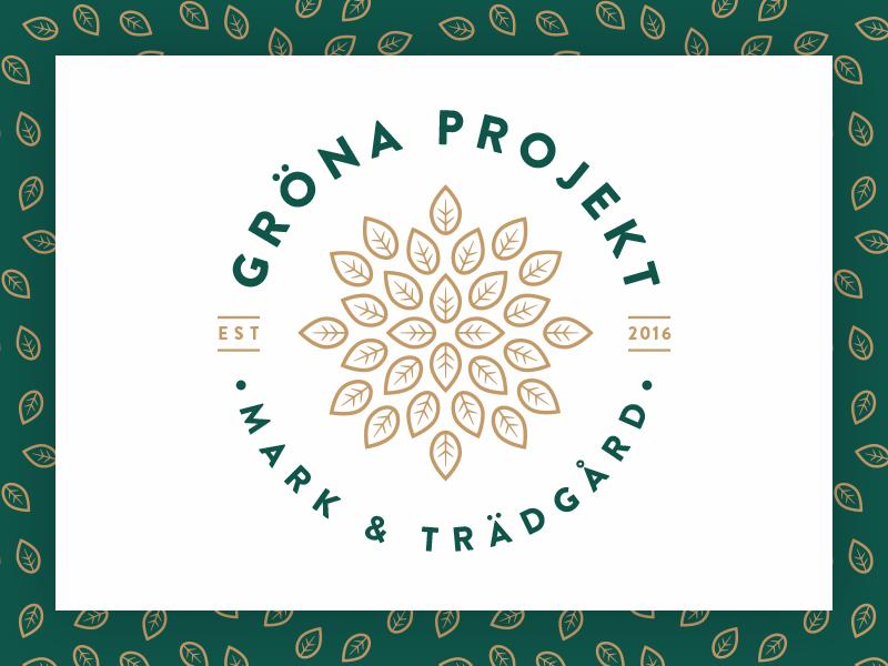 Logotype and pattern logo pattern branding