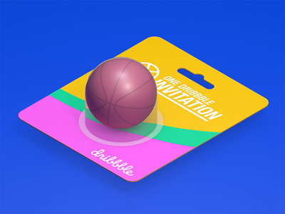 Dribbble invite invitation invite