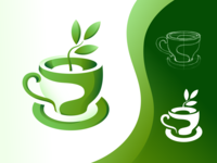 Cup with plant