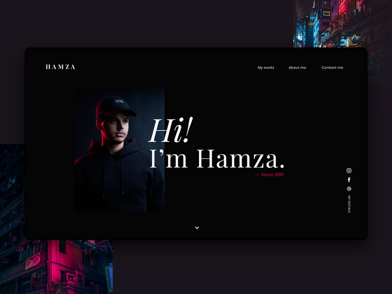 Design | My portfolio 💮 clean ui minimal logo website web ux typography graphic design design