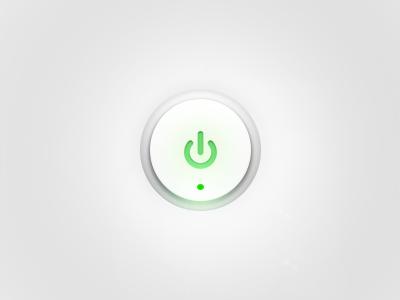 Dribbble power button