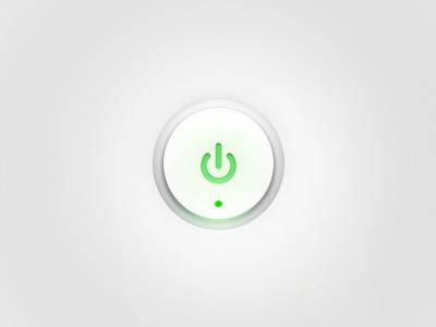 Power Button knob power button ui
