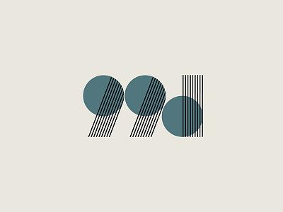 99 design vector logo design
