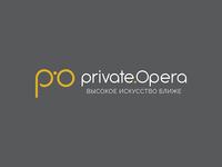 Logo design for Private Opera