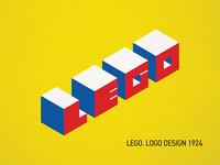 Bauhaus 100 Years. Lego logo.
