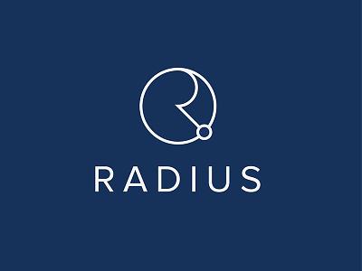 Radius logo design logo vector design