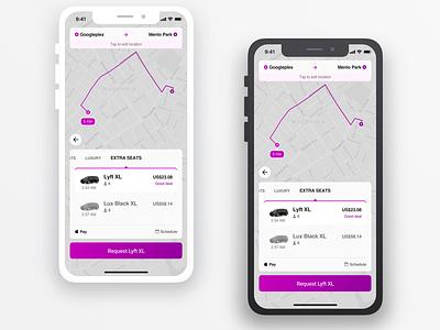 Taxi App vector ui  ux design sketch app ios design design ux design ui  ux