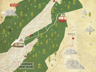 The origins of hiking texture hiking vintage illustration mountain magazine map