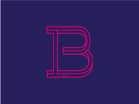 B monogram