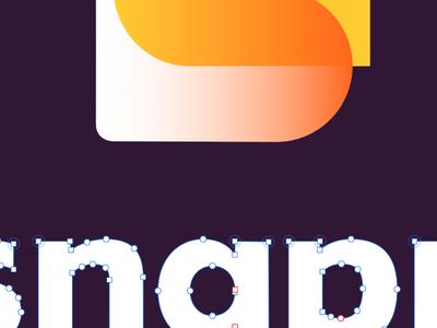 WIP: logo for secret project ui sketch app vi logo saas