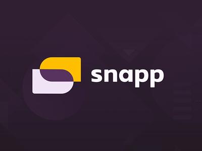 Snapp logo tool design logo simple shapes