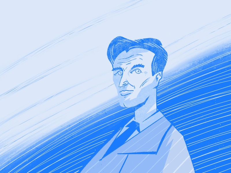 Vincent Price rebound drawing ipad procreate illustration