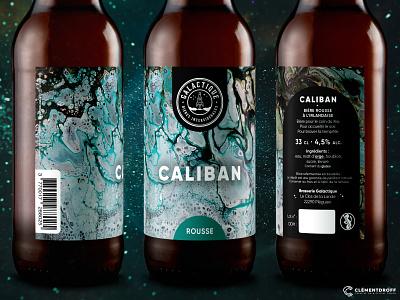 Caliban - Beer label logo graphic design craftbeer brewery branding brewery branding brand design craft brewery design craft beer