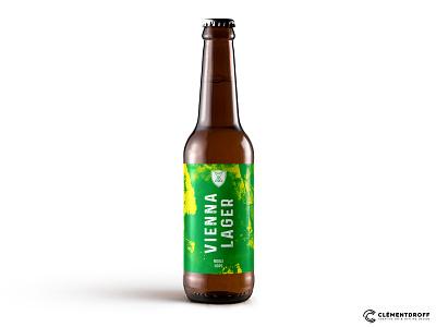 Athanor Vienna Lager illustration brewery craft brewery branding brand identity brand design craft beer design