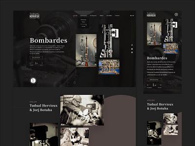 Webdesign Atelier Tudual Hervieux graphic design branding webdesign craft brand identity brand design design