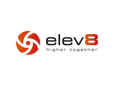 Elev8 1920x1080 02 typography branding design logo