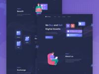 Landing page UX/UI
