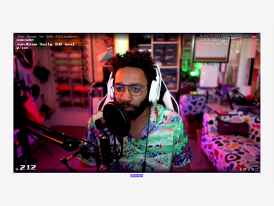 Figma Twitch Player UI figma component player ui design system auto layout