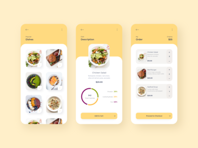 Mobile app - MyMeal