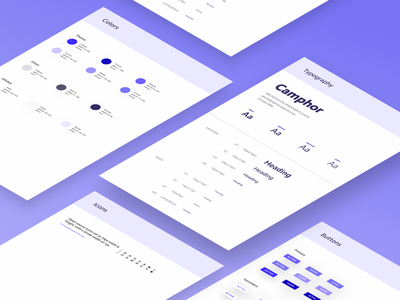 Style Guide - rs Research stripe minimal branding figma dx styleguide web ux ui design