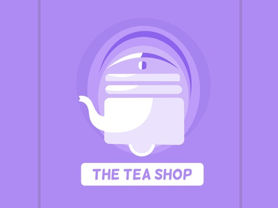 Tea shop logo