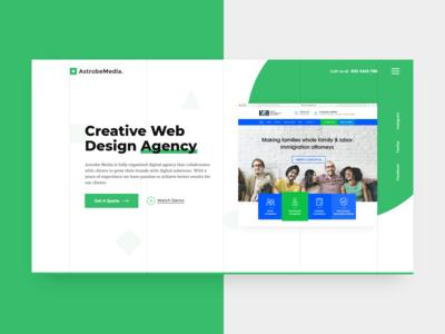 Agency Web UI (Green)
