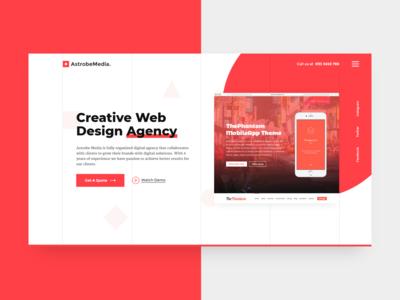Agency Web UI (Red)