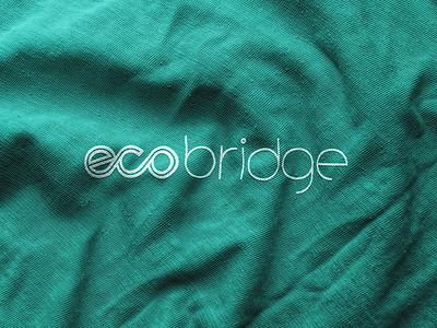 ecobridge Brand eXperience Design brand identity eco font company ecobridge brand design bx branding brand logo