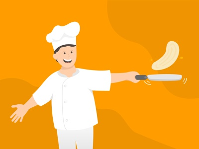 Cooking Chef Illustration vector ui design illustration illustrator