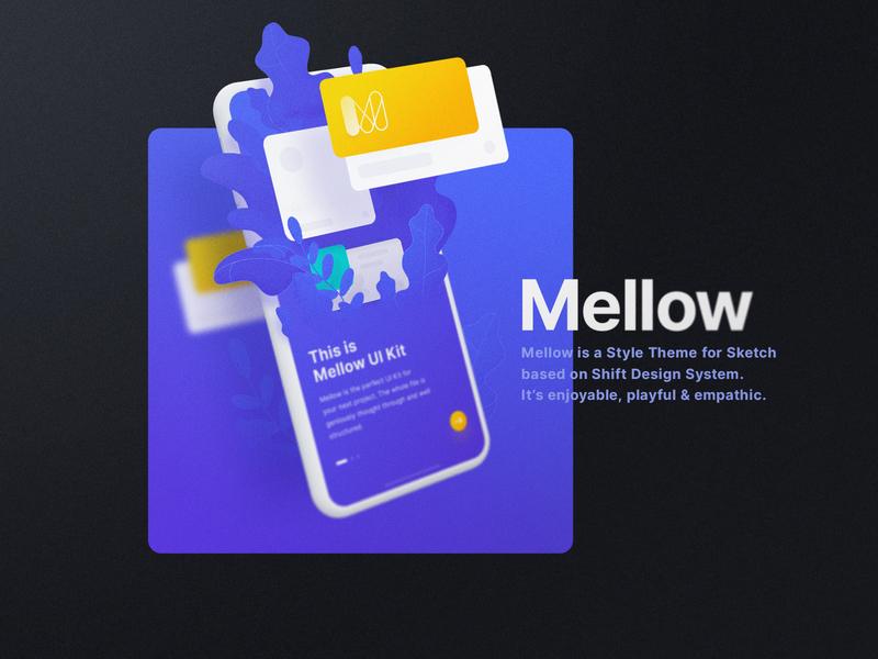 Mellow Theme design system system kit sketch typography yung frish design ux designer ux kits ui kits ui design design kit style theme theme user interface user experience ui ux ui kit