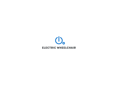 Electric Wheelchair disabilities disability power electrical electric wheelchair wheelchair electric design illustration logotype logodesigns logos logodesign logo