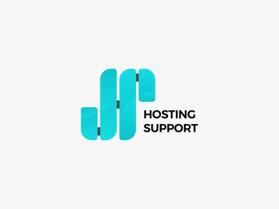 Hosting Support Logo