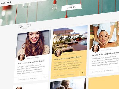 Beautiful blog blog modern clean bold beautiful avathemes new theme themeforest