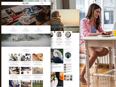Modern Magazine Blog Theme blogging writing responsive modern newtheme blog themeforest