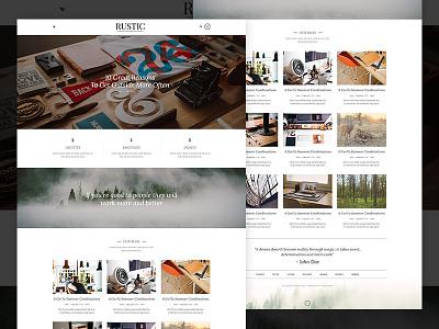 Magazine Blog Theme writing blogging newtheme blog modern responsive themeforest