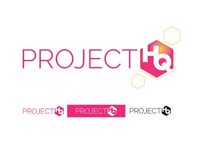 Project HQ Logo brand identity logo design logo