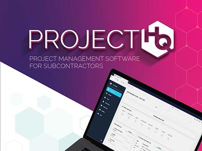 Project HQ Branding logo typography logo design design brand design brand identity