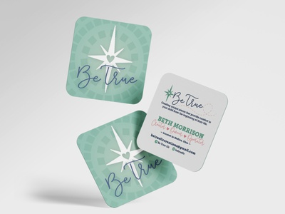 Be True Branding brand design business card design marketing logo design logo typography brand identity