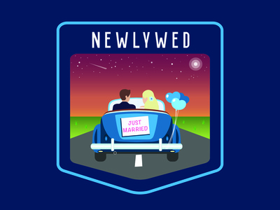 Newlywed Badge
