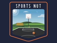 Sports Nut Badge