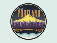 Visit Portland Badge