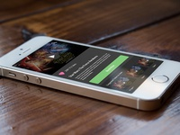 Perspective Mockup iPhone5s (Test)