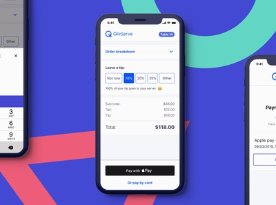 Pay at Table (Web App)