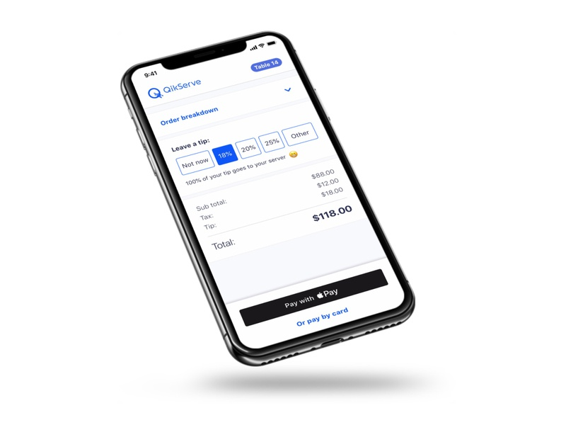 Summary - Pay at Table (Web App) restaurant app restaurant pay at table payment app payment method payment food and drink food ordering iphone ux ui design mockup
