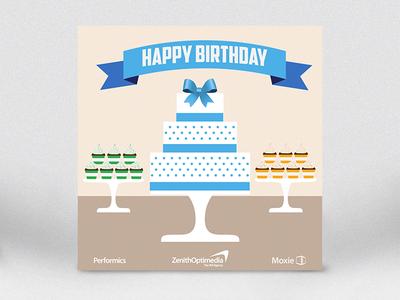 Company Birthday Card By Catrina Irankhah